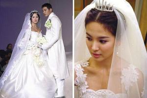 宋慧乔和宋仲基、玄彬、rain、黄晓明拍结婚照哪个最帅