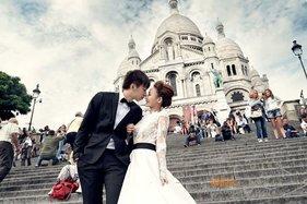 海外拍婚纱照之旅,法国巴黎婚纱照分享