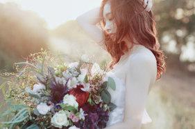 拍出来的婚纱照好喜欢,很唯美那种风格